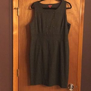 Merona Grey Shift Dress Size XXL